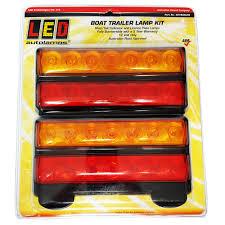 submersible led boat trailer lights ls reflectors isp glendale