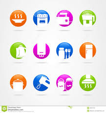 chic icon kitchen design royalty free stock photo image 37176275 innovational ideas icon kitchen design logo button cookware stock vector on home
