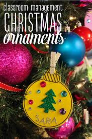 use ornaments to colorize your classroom management
