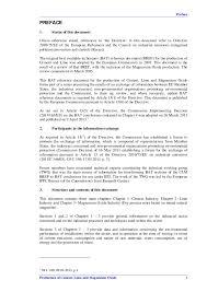 European Ippc Bureau European Commission Clm Published Def