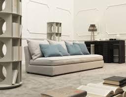 nella vetrina manhattan man03 italian designer white fabric sofa