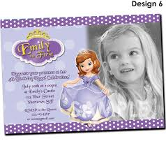 best 25 princess sofia invitations ideas on pinterest