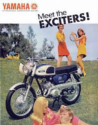 detail from 1968 advertisement for yamaha motorcycles yamaha