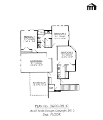 3602 0810 square feet 4 bedroom 2 story house plan