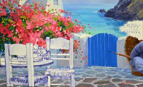 a delightful terrace mikki senkarik