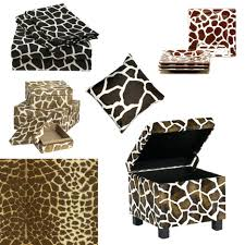Animal Print Storage Ottoman Ottomans Animal Print Folding Storage Ottoman Coffee Table Bench
