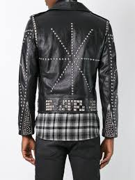 classic motorcycle jacket yves saint laurent yvsen laurent saint laurent classic studded