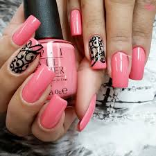 coral nail art by opi youtube