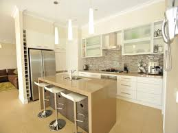 galley kitchen designs with island classic galley kitchen design using frosted glass desjar