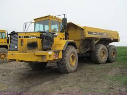volvo haul trucks for sale 1995 volvo a35 haul truck item f5013 sold june 13 const