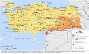 Turkey Map Europe by Smartraveller Gov Au Turkey