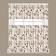 sunflower kitchen curtains bed bath u0026 beyond