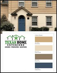 Exterior House Paint Schemes - paint colors options combinations texas home exteriors