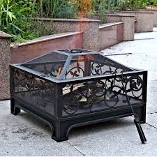 Metal Firepit Awesome Square Steel Pit Montreux 26 Square Steel Pit