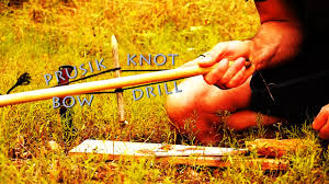 backyard survival prusik knot bow drill youtube