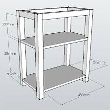 how to make a child s desk diy easy home office or child s desk diagrams plans building plans