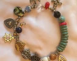 baptism charm bracelet story bracelet etsy