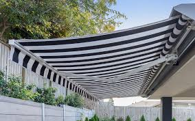 Retractable Awnings Brisbane Folding Arm Awning Franklyn Blinds Awnings Security