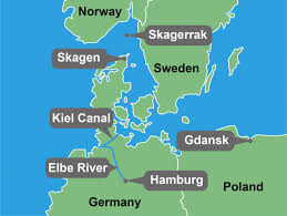 map of germany showing rivers hamburg hails 1 billion kiel canal funding awaits elbe river