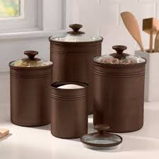 canisters for the kitchen bronze kitchen canisters gorgeous kitchen canisters gallery