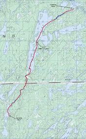 Bwca Map Canoe Country Bulletin Board Bwca