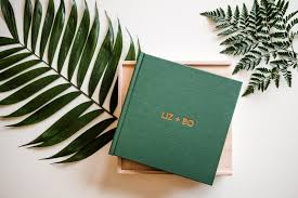 engraved wedding albums outdoor wedding photography collections in colorado