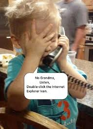 Kid On Computer Meme - oh grandma computer humor about the internet tech humor