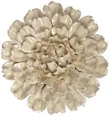 Amazon Com Imax 64194 Isabella Large Ceramic Wall Decor Flower