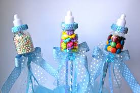 Blue Baby Shower Decorations Extraordinary How To Make Baby Shower Centerpieces 90 About