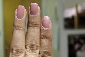 nail polish top of the coat