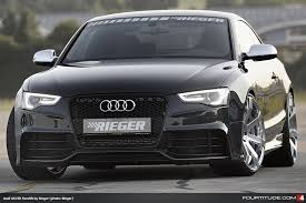 rieger audi audi a5 facelift by rieger tuning fourtitude com
