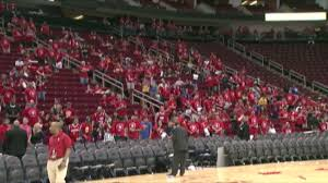 toyota center dwight howard rockets fans wait out flood at toyota center ny