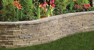 manificent design retaining wall blocks easy garden wall blocks