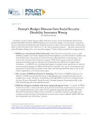 trump u0027s budget director gets social security disability insurance