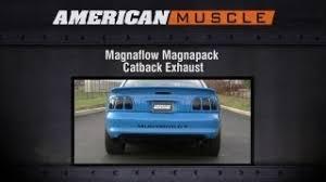 magnaflow vs flowmaster mustang 1994 1998 mustang magnaflow exhaust sound clip magnapack catback