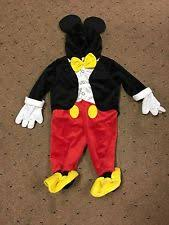 Mickey Mouse Toddler Halloween Costume Mickey Mouse Toddler Costume Ebay