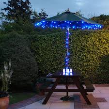 outdoor solar landscape lights and lighting blue beautiful safety