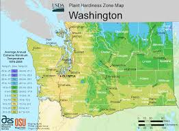 Zone Map Usa by Washington Plant Hardiness Zone Map U2022 Mapsof Net
