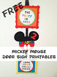 coloring pages mickey mouse free printable birthday invitation
