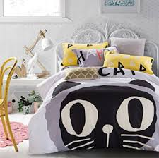 quirky u0026 stylish duvet covers for cat lovers u2013 meowaf