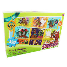 scooby doo 9 in 1 jigsaw puzzle jigsaw puzzles at the works zoom
