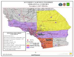 California Wildfires Map Ca Oes Fire Socal 2007
