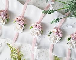 bridesmaid corsage bridesmaids corsage etsy