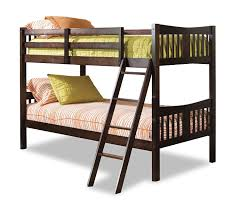 Amazoncom Storkcraft Caribou Solid Hardwood Twin Bunk Bed - Kids wooden bunk beds