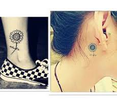 little sunflower tattoos design of tattoosdesign of tattoos