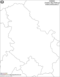 Blank Mexico Map by Blank Map Of Serbia Serbia Outline Map