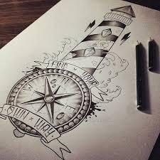 lighthouse compass by edwardmiller on deviantart