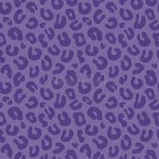 leopard wrapping paper seamless leopard print background pattern purple stock vector