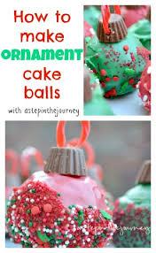 how to make ornament cake balls including a cake pop tutorial