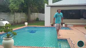 how to test a swimmimg pool safety net youtube